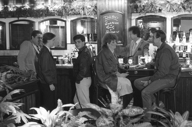 Le Metro in High Street West opened with a new look and new name of Digby's in November 1985.