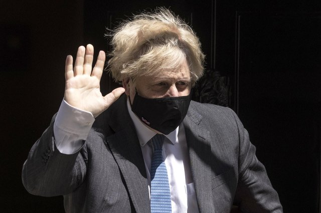 Prime Minister Boris Johnson leaves 10 Downing Street on June 23. Picture: Dan Kitwood/Getty Images.
