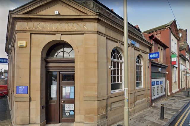 Kimberly Nelson, 37, fraudulently obtained £400 by getting the 47-year-old to make cash withdrawals, including at the TSB branch in Jarrow.