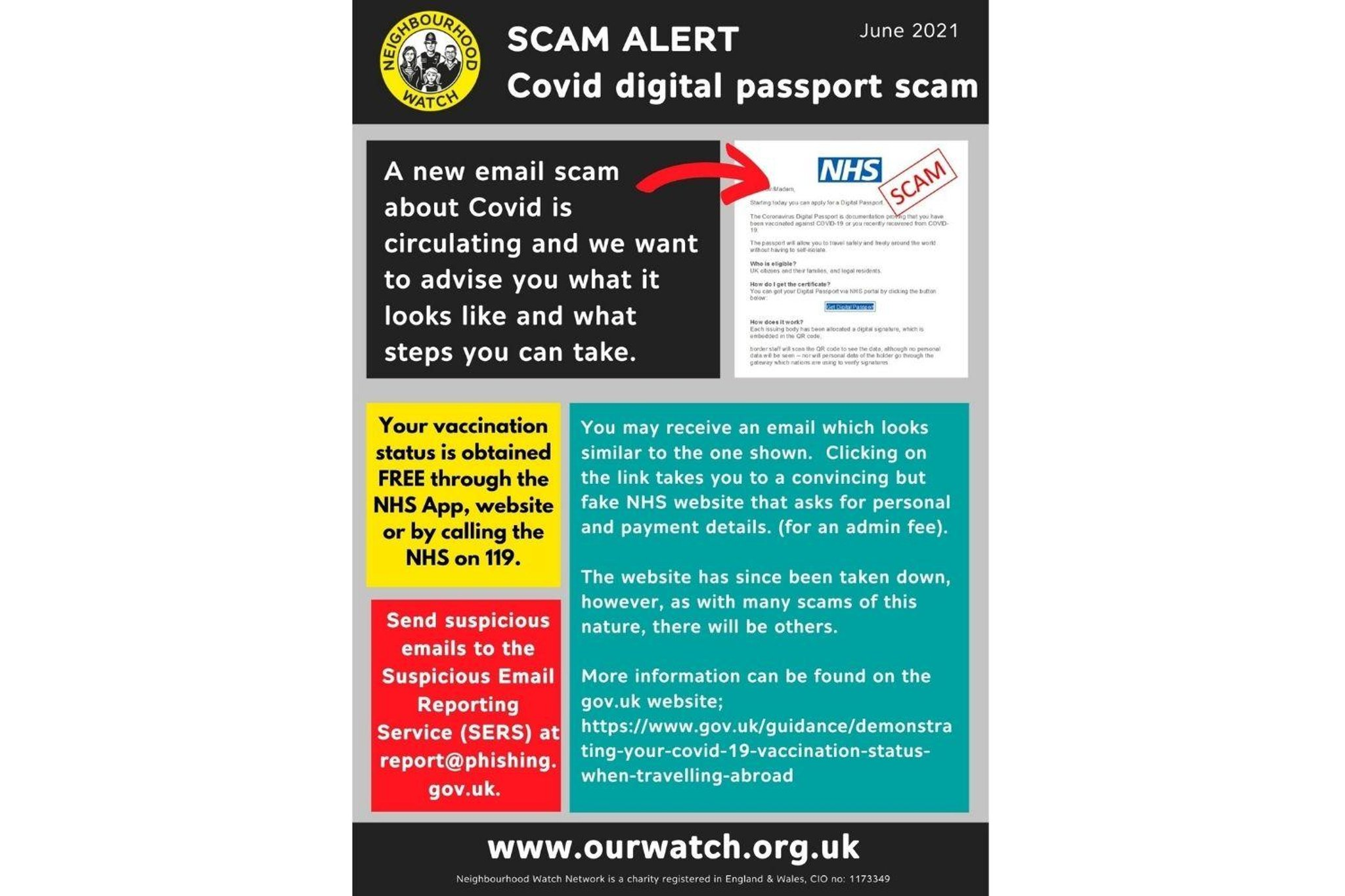 Scam warning as people pay fraudsters for vaccine passport ...