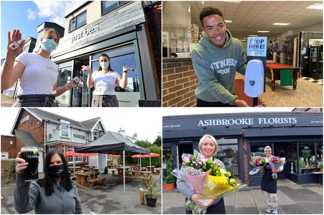 Sunderland businesses looking forward to welcoming people back