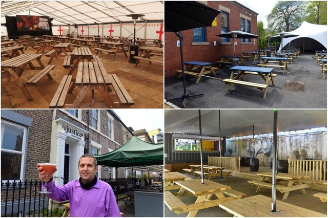 Beer gardens to watch the Euros