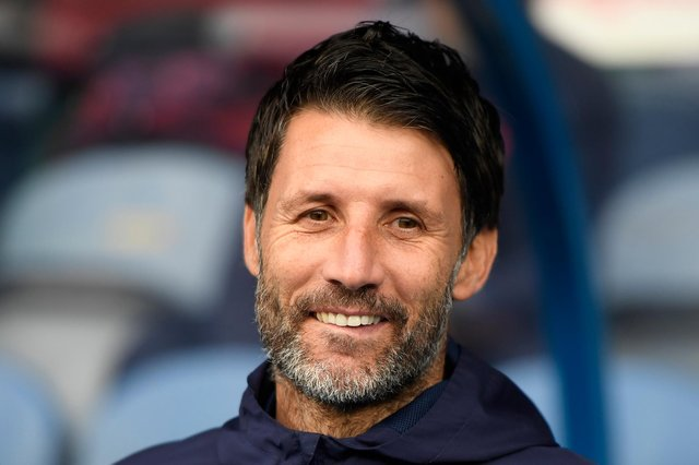 Portsmouth manager Danny Cowley