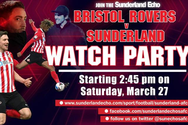Sunderland Echo SAFC Watch Party.