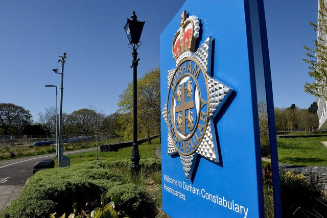 Police were called to Deneside Park in Seaham on Sunday.