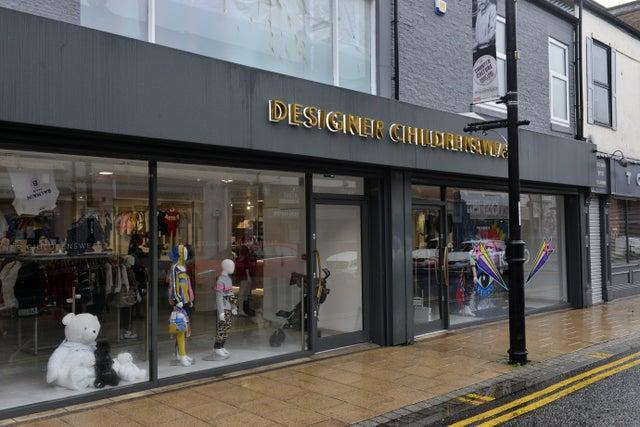 The store in Derwent Street