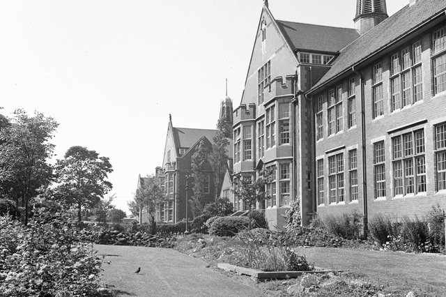Bede School. The scene for the 1977 band performance.