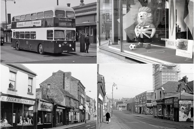 All these photos come from Sunderland between 1966 and 1968. Do you remember it? Photo: Bill Hawkins.