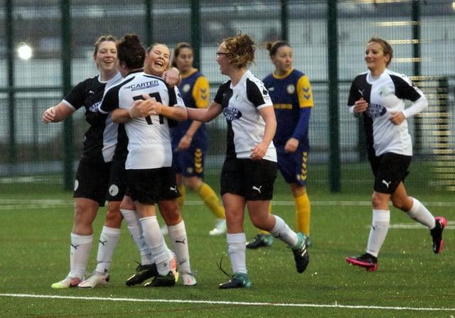 Gateshead Ladies formed in May 2020. (Photo credit: Gateshead FC/ Charles Waugh)