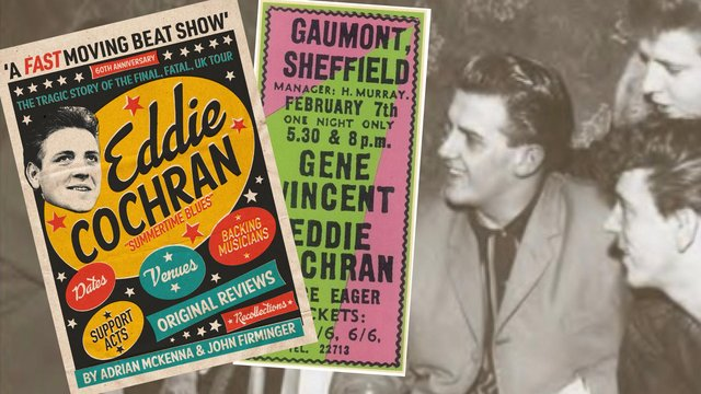 New book Eddie Cochran: A Fast Moving Beat Show – The Tragic Story of the Final, Fatal, Tour
