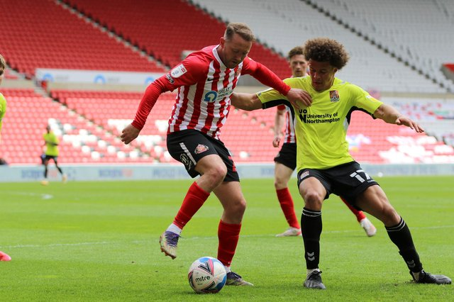 Sunderland midfielder Aiden McGeady.