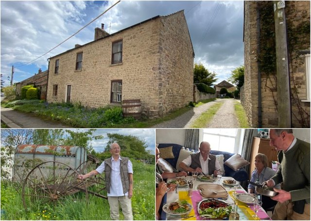 Eighty-seven-year-old Jimmy Atkinson, from Bishopwearmouth, was taken back to Snape,the North Yorkshire village he last saw as a lad.