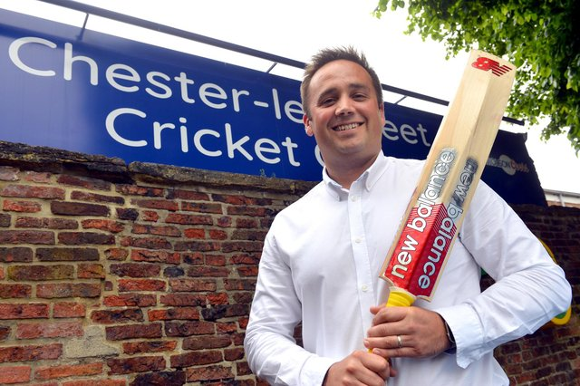 Chester-le-Street Cricket Club Iain Nairn has been awarded an MBE for services to disability cricket