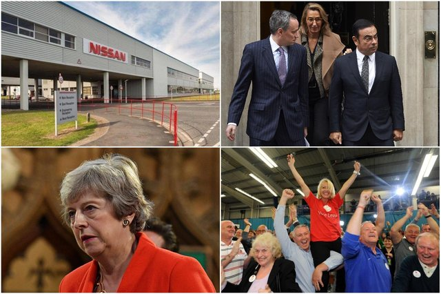Today's announcement ends Brexit uncertainty over Nissan