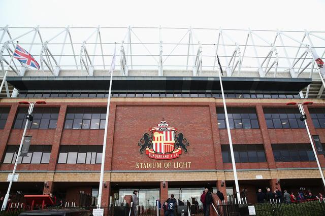 A general view of Sunderland's Stadium of Light.