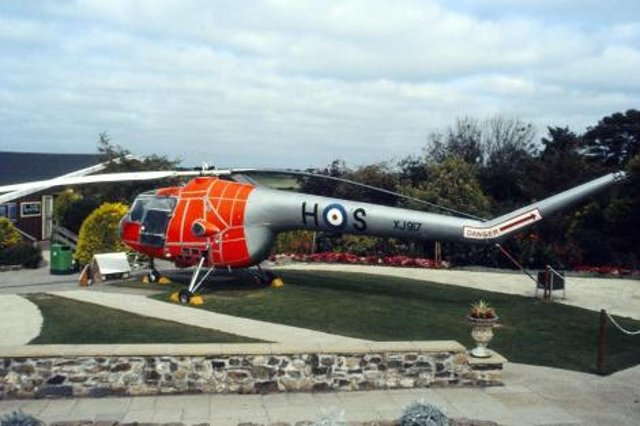 The latest addition to the North East Land, Sea and Air Museum - Sycamore XJ917