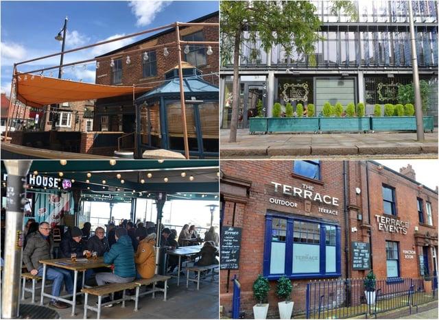 Nine beer gardens across Sunderland who are taking bookings.