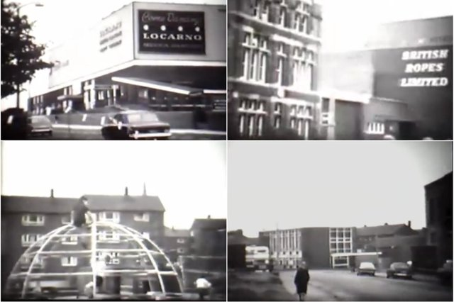 Clips from the footage of Monkwearmouth.