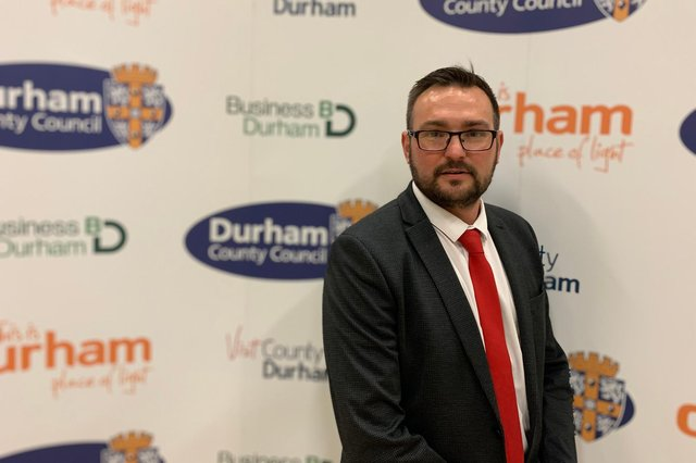 Cllr Carl Marshall, who has taken over leadership of Durham County Council's Labour group.