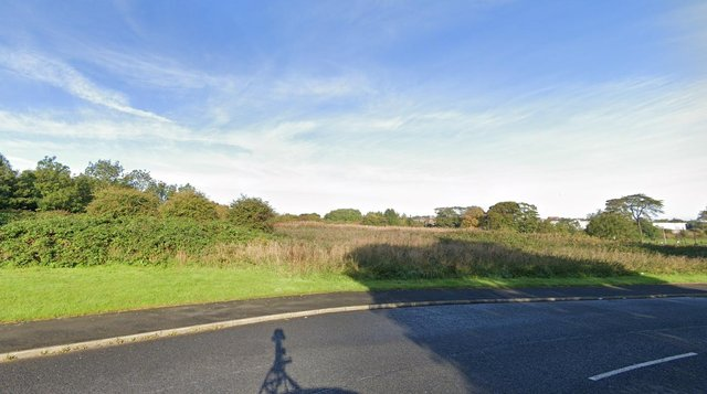 Land west of Silksworth Way and north of Doxford Park Way Sunderland Picture: Google