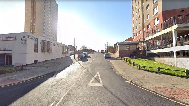 Stephen Martin, 47, was almost three times the limit when he was stopped in Walton Lane, Sunderland.