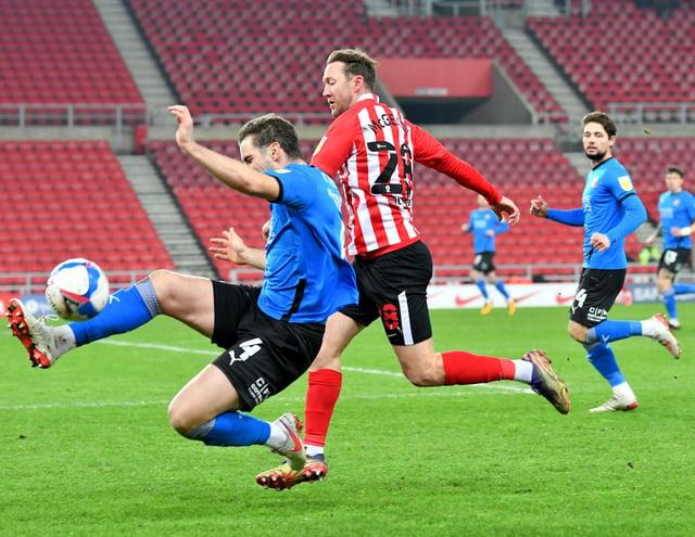 Sunderland winger Aiden McGeady is enjoying life at Sunderland under Lee Johnson