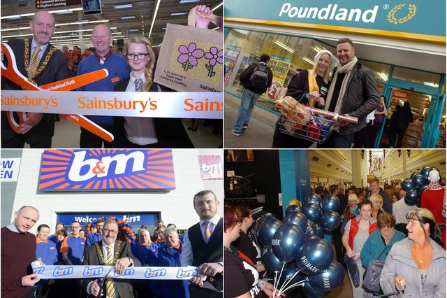 Stores galore but were you there on their opening day?