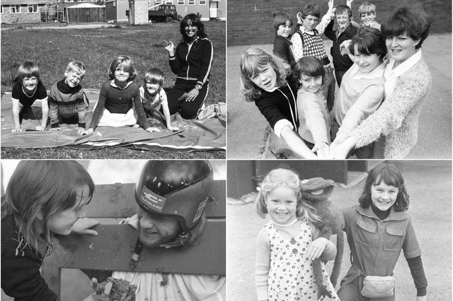 Soaking up the sunshine memories. Who do you recognise in these photos?