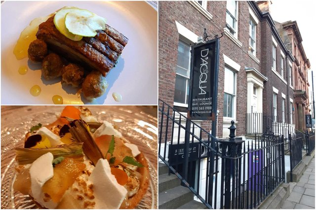 A taster of what we can expect from Undisclosed restaurant as it renovates the D'Acqua site in John Street.
