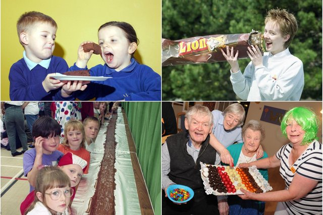 Mouth-watering chocolate memories from across Wearside and County Durham for you to enjoy.