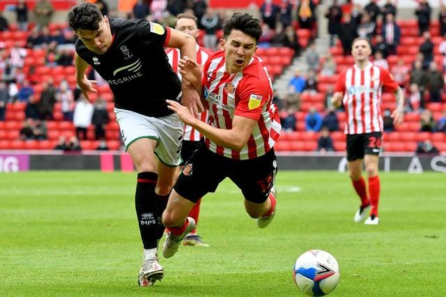 Sunderland midfielder Luke O'Nien.