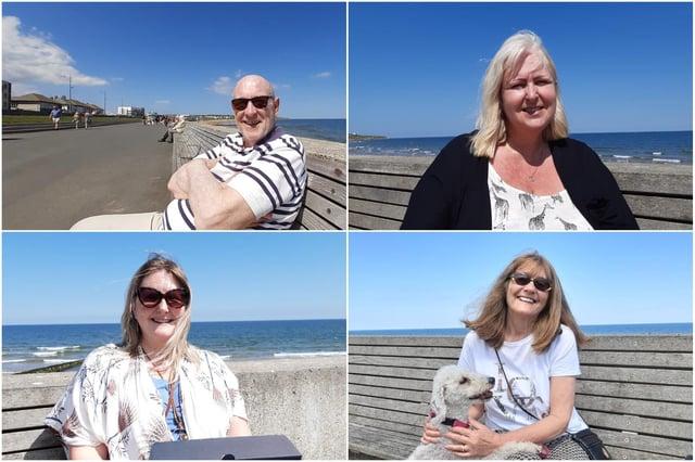 (clockwise from top left) David Fryett, Kathy Dewhirst, Sue Bulmer and Joanne O'Shea