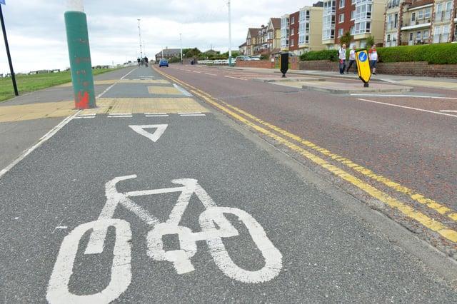Sunderland City Council new cycle lane proposal along Whitburn Road.