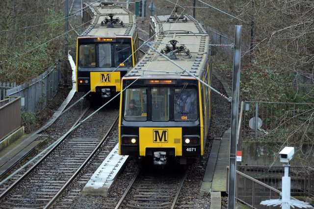 British Transport Police were called to reports of a casualty on the tracks near Fellgate Metro Station.