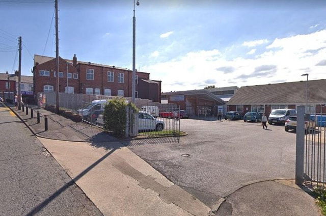 Police were called to reports of an intruder at the health centre