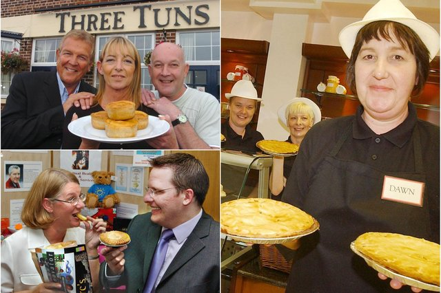 Pie scenes galore but can you spot someone you know?