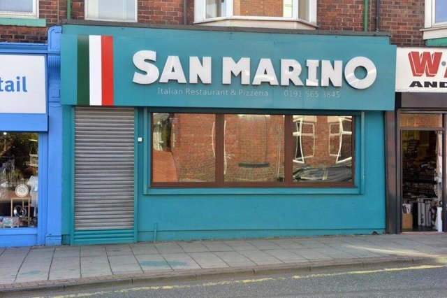 San Marino has been in Chester Road for 26 years