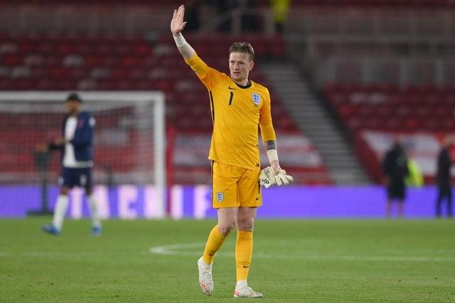 England goalkeeper Jordan Pickford.