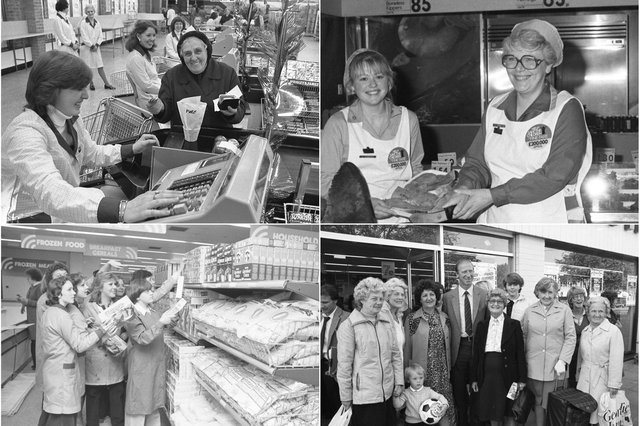 9 supermarket scenes which may bring back memories for the shopper of yesteryear.