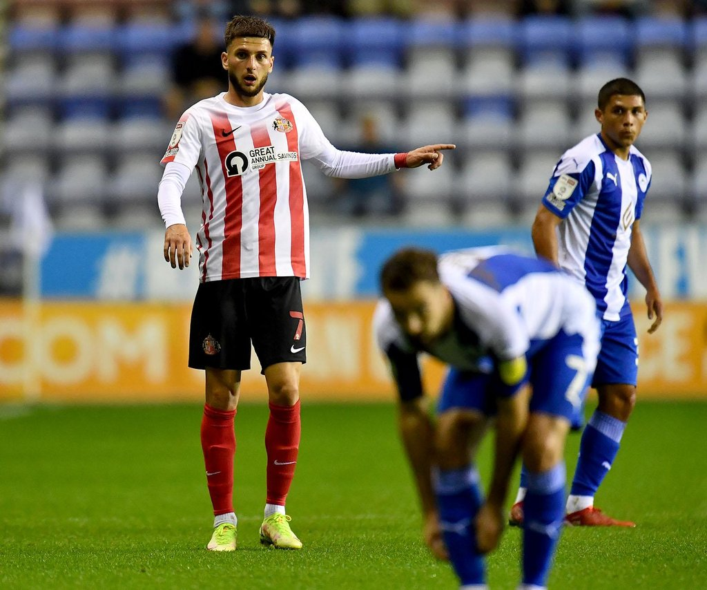 Sunderland boss delivers this verdict on Leon Dajaku's full debut