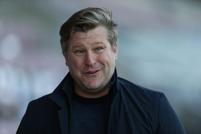 Oxford United manager Karl Robinson.