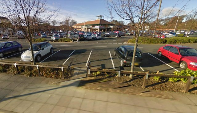 Thomas Lawson, 18, took his motor for a spin for up to 15 seconds at Morrisons at the William Doxford Centre, Doxford Park.