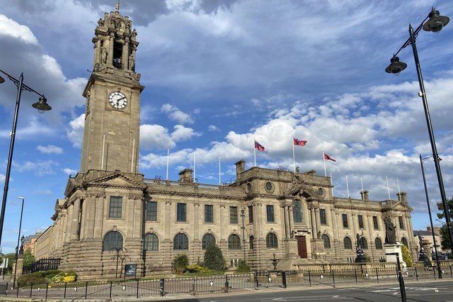 Four senior officers at South Shields Town Hall earn more than £100,000 a year. Picture by FRANK REID