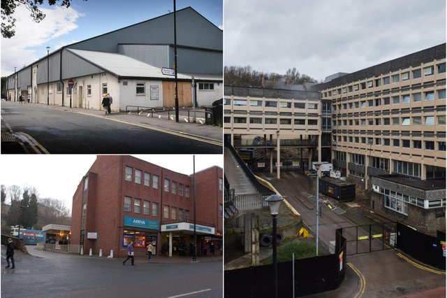 Just some of the Durham landmarks to have disappeared from the skyline.