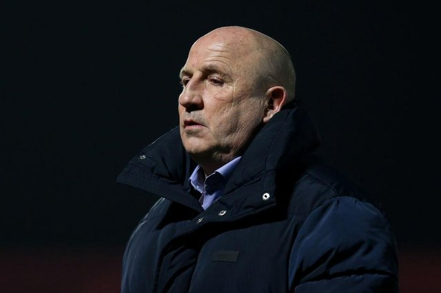 'They have rode their luck': John Coleman delivers his verdict on Sunderland as his Accrington side fall to defeat