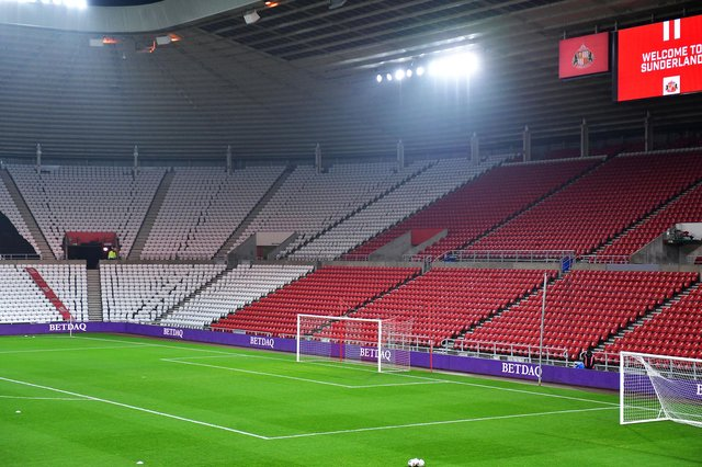 Sunderland hope to have fans back at the Stadium of Light for the play-off semi finals