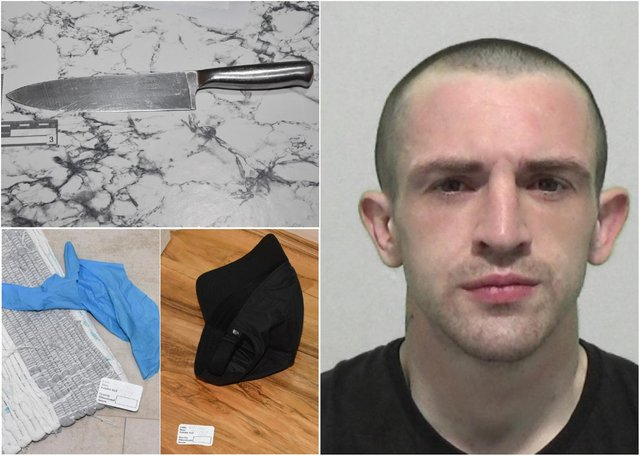 Grant Nanson, 28, of Thornhill Park, Sunderland, who has a criminal record, admitted aggravated burglary has been jailed for eight years.